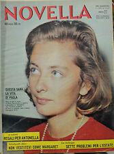 NOVELLA 1959 - RACCOLTA N°33 USCITE DAL N°27/ 5/LUG/1959 AL N°8 DEL 21/FEB/1960