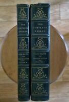 The Complete Angler 1880 -Izaak Walton, Charles Cotton 2 Volumes Limited Edition