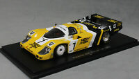Spark Porsche 956 Le Mans Winner 1985 Ludwig Barilla and Winter 43LM85 1/43 NEW