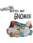 GNOMES CHILLIN DRINKING BEER Embroidery Machine Design Pattern PES PLUS MORE