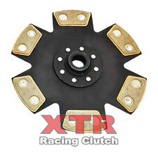 XTR RIGID 6-PUCK RACE CLUTCH DISC VW CORRADO G60 1.8L GOLF JETTA PASSAT 1.9L TDI