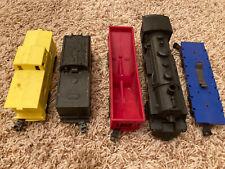 Marx O-Gauge Train Set Four Wheel Plastic Union Pacific Erie