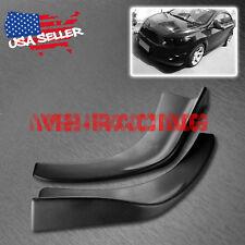 Universal Front Bumper Lip Splitter Spoiler Diffuser Black Urethane Body Kit S08