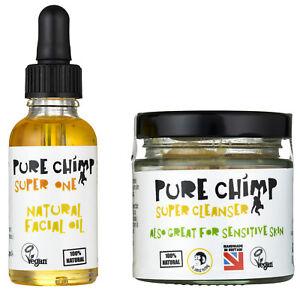 Natural Face Care Kit by PureChimp - Sensitive Skin - Natural, Pure & Vegan