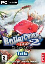 Rolercoaster Tycoon 2 Deluxe PC NEW and Sealed UK Release