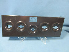New listing Thermador Vintage Cooktop Su4-G Parts~Infinite Switches Mounting Box