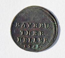German States, Brandenburg Bayreuth, 1 Ther Heller 1751, Friedrich (1735-1763)