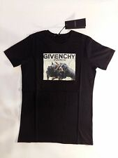 Givenchy Short Sleeve Black Rottweiler Paris Print Cotton T-shirt Size XL