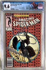 Amazing Spider-man # 300 CGC 9.6 Stan Lee,Todd Mcfarlane 1st Venom, Newstand