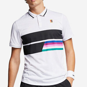 Nike Court Advantage Classic Tennis Dri-Fit Polo Shirt - Size M (AJ7847 100)