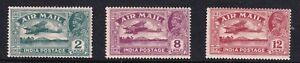 INDIA STAMP AIRMAIL MH/OG STAMPS COLLECTION LOT