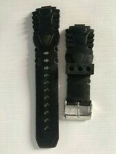TECHNOMARINE Charcoal Grey Silicone Replacement Watch Strap/Band/Bracelet - 20mm