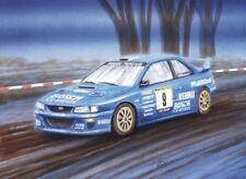 Litho Subaru Impreza S5 WRC 1999 #9 Boers / Bremmer Paradigit ELE Rally 2003 dV