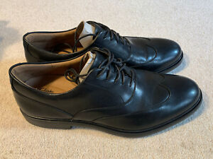 Clarks Un Tailor Wing men's leather shoes  black   size 10.5   new