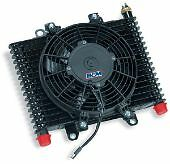 B&M HI TEK ENGINE OIL & TRANS COOLER/FAN LARGE - BM70297