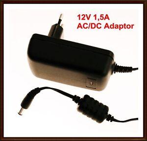SAGEM KSAFD0201200150HE 12V 1,5A AC/DC Adaptor EU Netzteil Gebraucht #R1-A6
