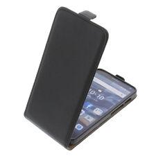 Custodia per Alcatel One Touch Pop 4 Cellulare Modello Flip Protettiva Nero