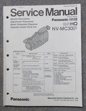 Service Manual Panasonic NV-MC30