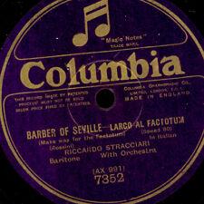 """Riccardo STRACCIARI-Bari Tone - """"Barber of Seville"""" largo al/""""Rigoletto """"g2609"""