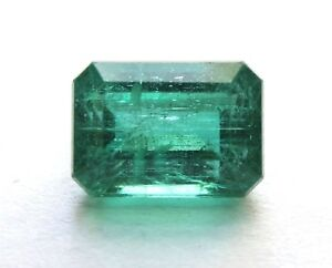 1.70 Karat Poliert Natürliches Grün Beryll Smaragd