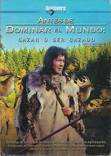 DVD - Antes De Dominar El Mundo NEW Cazar O Ser Cazado FAST SHIPPING !