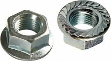 "3/8""-16 Hex Head Serrated Flange Lock  Nut,Zinc Plated, 500 pcs"