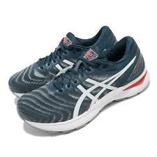 Asics Gel-Nimbus 22 2E Wide Blue Grey White Men Running Shoes 1011A685-404