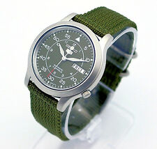 SEIKO 5 Men Military Automatic Watch SNK803 SNK807 SNK805  SNK809 Nylon/ Canvas