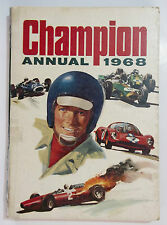 1968 Champion ( Annual ) A Unique Look At Britain's Champions Cartoon Format