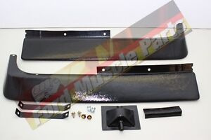 FORD FALCON XW XY GT GS PLASTIC 2PC FRONT SPOILER XR XT