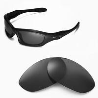 New Walleva Polarized Black Lenses For Oakley Monster Dog