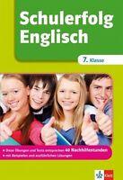 SCHULERFOLG ENGLISCH 7. Klasse, neu!