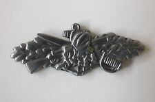 US USA USN Navy Seabees Combat Service Military Hat Lapel Pin