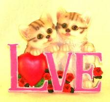 statuette deux chatons
