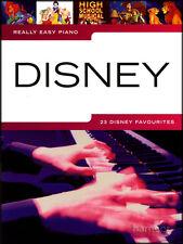 Molto facile per pianoforte Spartito LIBRO DISNEY TOY STORY ALADINO TARZAN incantato