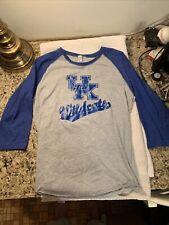 University Of Kentucky NCAA Women's Pullover Shirt Size M 3/4 Sleeve Style SEC
