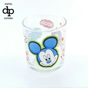 MICKEY MOUSE NO CILLA GLASS CUP