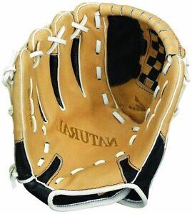 "LHT Lefty Easton NYFP1100BKTN 11"" Natural Elite Youth Fastpitch Softball Glove"