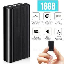 Digital Hidden Voice Recorder Spy Mini Magnetic Audio Activated Dictaphone MP3