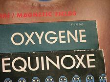 """Jean Michel Jarre 3 LP Colección Mint nm vinilo 12"""" Oxygene equinoxe magnetic field"""