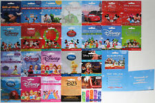 26 Disney Store Gift Cards: Mickey, Minnie, Christmas, Princesses, Star Wars +++