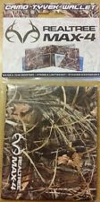 REALTREE  Max-4  Bifold Eco Tear Resistant Tyvek Mighty Wallet