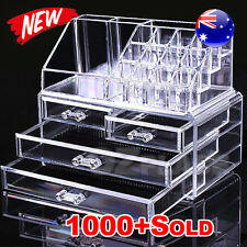 Premium Holder Cosmetic Organiser Makeup 4 Drawer Acrylic Storage Jewellery Box