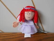 Fairy dito fantoccio Mini Piccolo Giocattolo morbido, JellyCat Jelly cat J360 BACCHETTA, capelli rossi