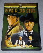 Five Card Stud (1968) *RARE opp dvd