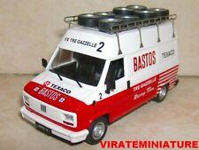 Fiat Ducato Rallye assistance Bastos Blanc / Rouge 1 43 IXO