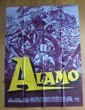 THE ALAMO john wayne western affiche cinema originale 160x120 cm R60s