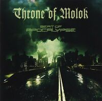 Throne of Molok - Beat of Apocalypse (2015)  CD  NEW/SEALED  SPEEDYPOST