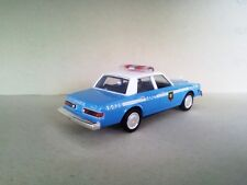 """Dodge Diplomat 1983 NYPD Police """"The Usual Suspects"""" 1:43 MotorMax #73412"""