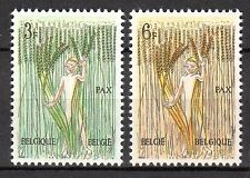 Belgium - 1963 Peace movement - Mi. 1311-12 MNH